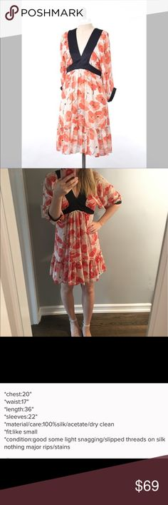 Anthropologie Dress Moulinette Soeurs Dress. Reposh. Beautiful and girly 💁🏼. I liked but my husband was not a fan ☹️ Anthropologie Dresses