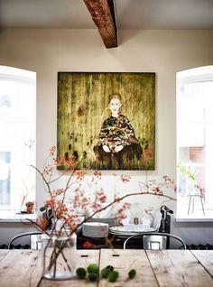 nice Décoration mural  - Interiors | Malmo: Apartment Living Check more at https://listspirit.com/decoration-mural-interiors-malmo-apartment-living/