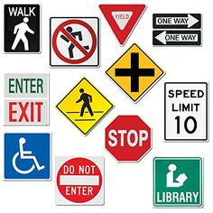 Creative Teaching Press 10-Inch Jumbo Designer Cut-Outs, Street Signs (5987) Creative Teaching Press http://www.amazon.com/dp/B00BYA9QDW/ref=cm_sw_r_pi_dp_8KlUtb104CCQNR3E