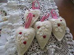 wool felt christmas craft