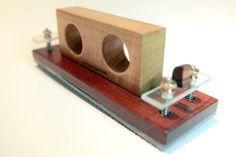 Hand Sander.  Hard Maple, Cocobolo with Walnut Accent.  By L. Litinsky