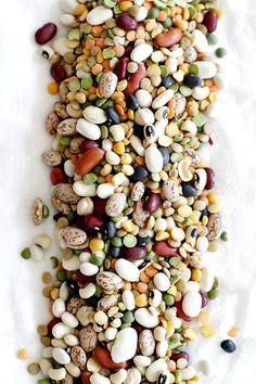 Hearty 13-Bean Slow Cooker Minestrone | girlversusdough