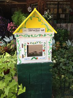 Karen Kerr. Tyler, TX. I read about a little library in our local paper. I retired 5 years ago after teaching for 20 years. When I saw the library I told my daughter that I wanted one. My children and my grandchildren made the little library for me! Each grandchild painted a part of the house. I cried like a baby when I opened the box hiding my little library. It is very special because I know that it was built with love.