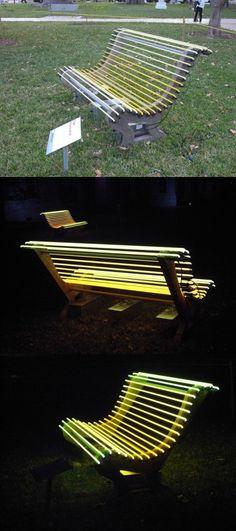 Lighting bench