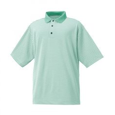 FootJoy Mens Performance Feeder Stripe Polo from Golf & Ski Warehouse