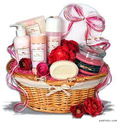bath gift basket ideas | Gift ideas for groom's cousins friends