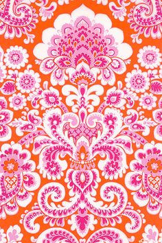 Orange and Pink!