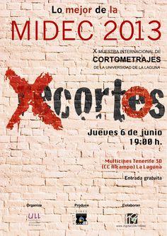 'Lo mejor de la MIDEC 2013' en Multicines Tenerife 3d (CC Alcampo, La Laguna, Tenerife). 6 de junio, 19.00 horas.