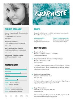 51 Best Inspirations Carte De Visite CV Images On Pinterest