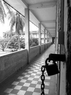 S21 Prison in Phnom Penh, Cambodia (what a chilling place)