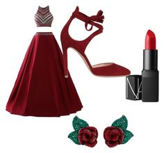 """""""Untitled #73"""" by livadams206 on Polyvore featuring Atelier Swarovski, NARS Cosmetics and Gianvito Rossi"""