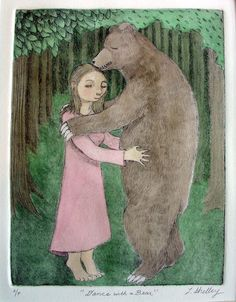 a recurring dream I have of dancing with a bear