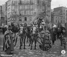 Carnaval a Barcelona 1915. Diputacio de Barcelona