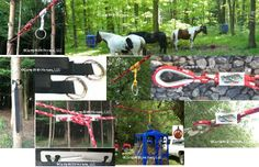Horse High Line tools from Camp With Horses.  Savvy Smart Trail Tools to put a high-line up in 5-8 minutes