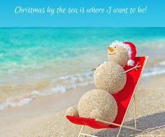 Christmas by the sea is where I want to be!