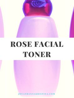 Rose facial toner th