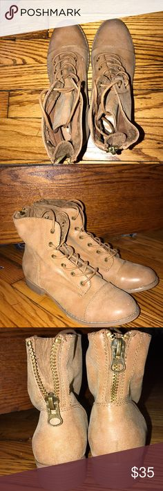 Women's combat boots Guess Women's combat boots  Size 8 Never worn  Condition is new Shoes Combat & Moto Boots