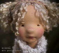 Sienna-natural fiber art doll by Mon Petit Frère | Megan McGInnis | Flickr