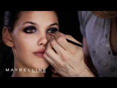 Ojos ahumados. Cómo pintar los ojos ahumados - YouTube