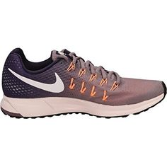 Nike Air Zoom Pegasus 33 Purple SmokePurple DynastyPeach CreamWhite Womens Running Shoes >>> Click image for more details.