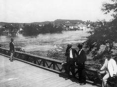 fotos antigas bairro de pinheiros - antiga ponte de Pinheiros - 1929