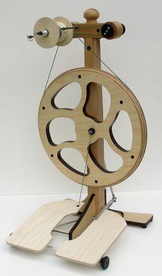 Spinnrad Karina.Von Schwarzenstein Spinning Wheels