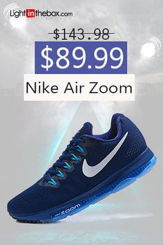 ce4b9fd855d6 NIKE air zoom Mens and Women s Running Shoes Dark blue