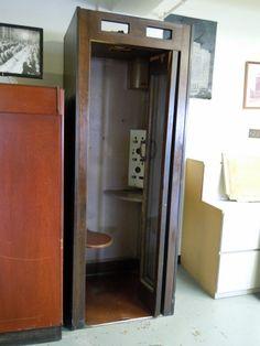 Old Telephone Booth. #CincinnatiBell #telephonebooth #History #CincinnatiBellArchives
