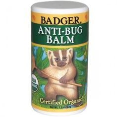 Badger Antibug 1.5oz Twist Stick #BadgerAntiBugStick #natural #bugrepellent  #organic #surreynatural #firstaid