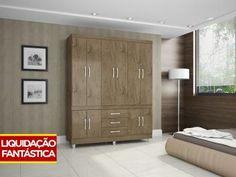 Guarda-roupa Casal 10 Portas APENAS R$ 275,49