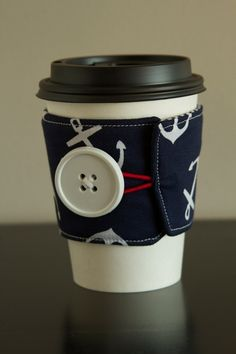 Coffee Cup Sleeve Cozy by AmandaJeanCreations on Etsy, $5.00
