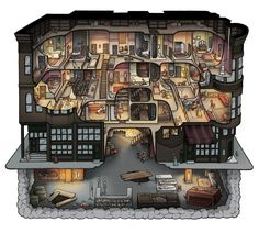 Making the H. H. Holmes Murder Castle — Carden Illustration