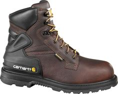 CMW6139 Carhartt Men's Waterproof Work Boots - Brown