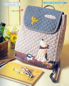 Lovely Backpack Kids Backpack Pattern PDF by LovelyHandmadeShop, $4.99