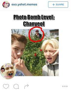 Chanyeol is everywhere