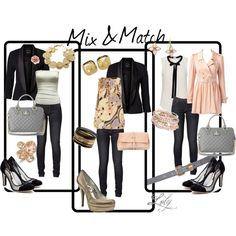 Mix & Match, created by lolygro.polyvore.com