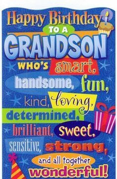 Birthday Greeting Card Grandson Humorous AmericanGreetings Cards Happy
