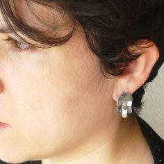 Flaques earrings!!! silver sterling earrings