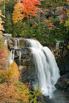 Whitewater Falls - Nantahala National Forest, North Carolina