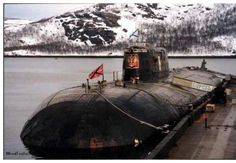 K-141 Kursk was an Oscar-II class nuclear-powered cruise missile submarine of the Russian Navy, lost with all hands when it sank in the Barents Sea on 12 August 2000.