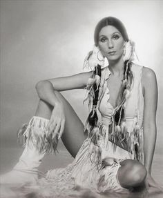 Cher, THIS is when she was truly beautiful, before the plastic surgery teeth bonding, etc.