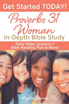 Join us for the FREE Proverbs 31 Woman Bible Study! Companion Workbook + Devotional Journal + Bible Reading Plan + Video Lessons & More! Bible Study Notebook, Bible Study Plans, Bible Study Tips, Bible Study Journal, Scripture Study, Bible Lessons, Prayer Scriptures, Bible Teachings, Bible Prayers
