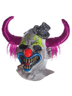 Clown Deluxe Latex Mask by DJ Ashba