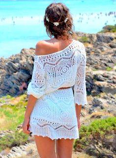 New Fashion Crochet Beachwear