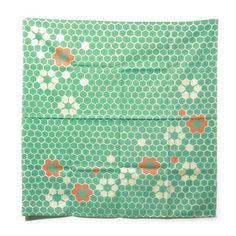 japanese green scarf