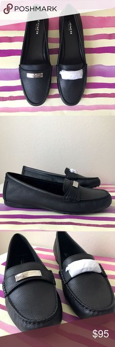 ✨NWT COACH Women's Fredrica Pebble Loafer Flats👞 ✨Brand New Coach Women's Fredrica Pebble Grain Leather Loafer Flats👞! Never worn, in the original box, size 9, color-black. Only selling because I bought it for my Mom, but they didn't fit her. Very stylish and comfortable for every day! Coach Shoes Moccasins