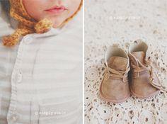ganchillos y encajes para bodegones de bebé