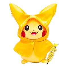 Pokemon Center original stuffed toys Raincoat Pikachu Rainy season Pokémon http://www.amazon.com/dp/B00XL1HSIC/ref=cm_sw_r_pi_dp_EHJrwb067JPS1