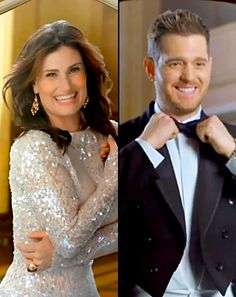 """Idina Menzel, Michael Buble Record """"Baby, It's Cold Outside"""" With Kids - Us Weekly. WATCH THE VIDEO! SSOOO CUTE! OMG! I LLLOOOVVEE IT SOO MUCH."""