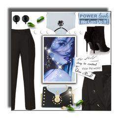 """GIRL POWER: Power Look"" by eula-eldridge-tolliver ❤ liked on Polyvore featuring Elie Saab, Ralph Lauren, John Brevard and Yves Saint Laurent"